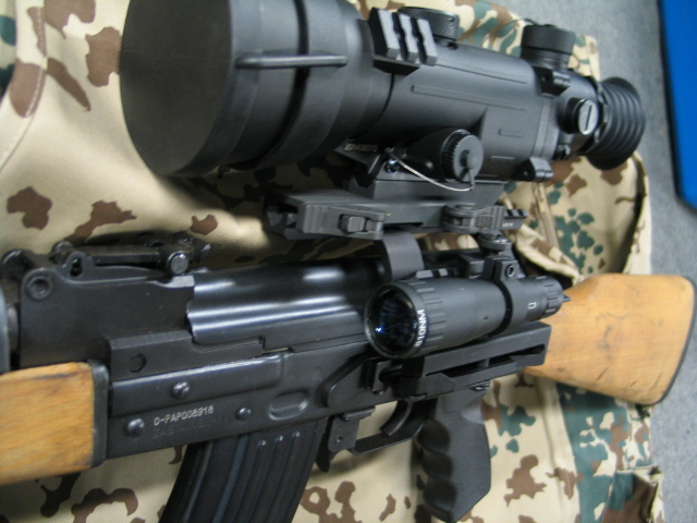 Utg Pro U978s Ak47 Scope Mount Quick Detach Ak Side Mount